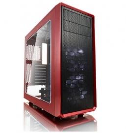 Fractal Design Focus G Red Window Fd-ca-focus-rd-w