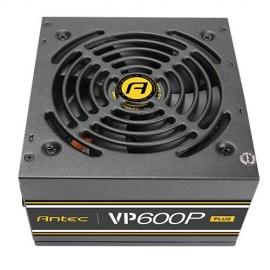 Antec VP600P PLUS ATX PSU: 600W 80 PLUS, non-modular, 120 mm Silent Fan (VP600P PLUS)