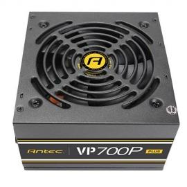 Antec VP700P PLUS ATX PSU: 700W 80 PLUS, non-modular, 120 mm Silent Fan (VP700P PLUS)