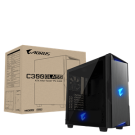 Gigabyte ATX GB-AC300G Tempered Glass Case (AC300G)
