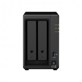SYNOLOGY DS720+, 2 BAY NAS (NO DISK), CEL-J4125, 2GB,GbE(2),USB(2),M.2(2),eSATA, 3YR