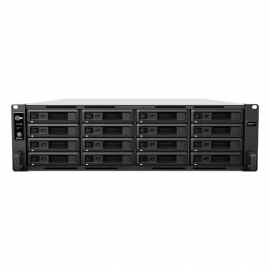 Synology RS4021xs+ RackStation 16-Bay Scalable NAS ( RAIL KIT optional ) with Redundant Power (USE SYNOLOGY DRIVES ONLY).