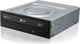 Lg Gh24-nsd1 24x Dual Layer Super Multi Dvd Burner Black Oem - Sata, M-disc Support Gh24nsd1.aybu10b