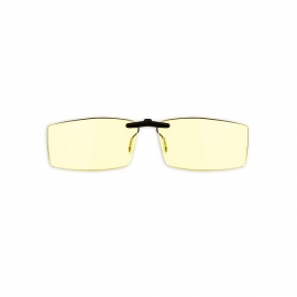 Gunnar Bit Clip-on Amber Onyx Indoor Digital Eyewear Gn-bit-00101