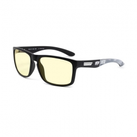 Gunnar 6-Siege Intercept Amber Onyx Indoor Digital Eyewear Gn-Int-09101