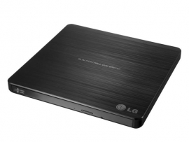 Lg Gp60nb50 Slim External 8x Super-multi Portable Dvd Rewriter With M-disc, 2 Years Warranty