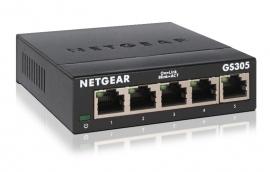 NETGEAR SOHO 5-port Gigabit Unmanaged Switch (GS305-300AUS)