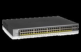 Netgear 48-Port 760W Gigabit Poe+ Ethernet Smart Managed Pro Switch With 4 Sfp Ports (Gs752Tpp)