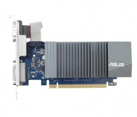 Asus Geforce Gt710 Silent Edition Pci Express 2.0 2gb 64-bit Ddr3 954mhz D-sub/ Dvi/ Hdmi/ Hdcp With