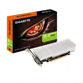 Gigabyte Nvidia Geforce Gt1030 Silent 2g Gddr5 Dvi-d/ Hdmi No Fan Low Profile 300w Gv-n1030sl-2gl