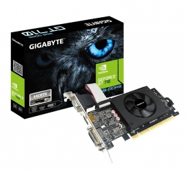 Gigabyte Geforce Gt710 2Gb Gddr5 Vga/ Dvi-D/ Hdmi (GV-N710D5-2GIL)