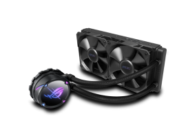 Asus ROG STRIX LC II 240 AIO CPU COOLER all-in-one liquid CPU cooler with Aura Sync