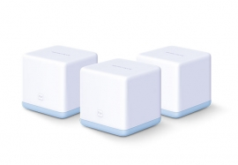 TP-LINK MERCUSYS HALO S12 3-PACK AC1200 WHOLE HOME MESH WIFI, 3YR (HALO-S12-3PK)