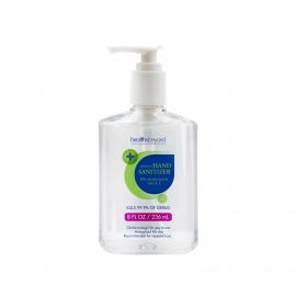 Health & Beyond Instant Hand Sanitiser Gel 236Ml Pump Bottle With Moisturizers & Vitamin E 75% Alcohol Hbhs-236Ml