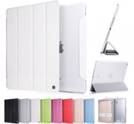 Hoco Ice Ultra Slim Premium Smart Case For New Ipad Air Snow White, Free Screen Protector