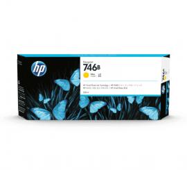 HP 746B 300ml Yellow Ink Cartridge (3WX38A)