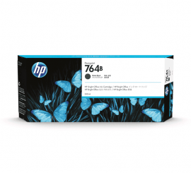HP 764B 300ml Matte Black Ink Cartridge (3WX40A)