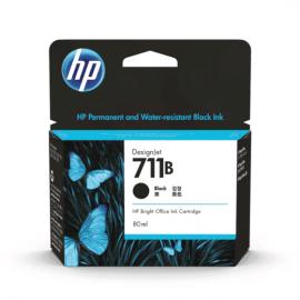 HP 711B 80ml Black Ink Cartridge (3WX01A)