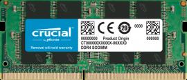 Crucial 4GB DDR4 2666 MT/s (PC4-21300) CL19 SR x8 SODIMM 260pin [CT4G4SFS6266]