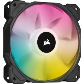 Corsair SP120 RGB ELITE, 120mm RGB LED Fan with AirGuide, Single Pack CO-9050108-WW