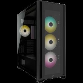 Corsair iCUE 7000X RGB Tempered Glass Full Tower Smart Case, Black CC-9011226-WW