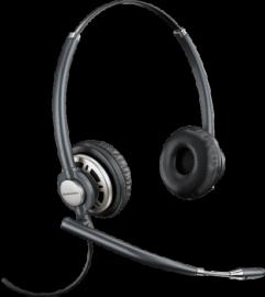 Plantronics Encorepro Hw720D Over-The-Head Binaural Digital Series Corded Headset Top 78716-101