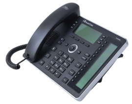 Audiocodes Ip440 Ip Phone Gbe Black 6 Lines 2 Ethernet 18 Programmable Keys 256x128 Lcd Ip440hdeg