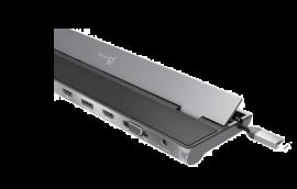 J5Create Jcd543 Usb-C Triple Display Docking Station (Usb-C To Vga/ Hdmi/ Dp Rj45 Sd Card Usb-A X 3 Usb-C X 1) Jcd543