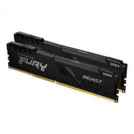 Kingston 16GB 3600MHz DDR4 CL17 DIMM (Kit of 2) FURY Beast Black KF436C17BBK2/16