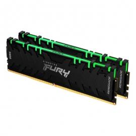 Kingston 16GB 3600MHz DDR4 CL16 DIMM (Kit of 2) FURY Renegade RGB KF436C16RBAK2/16