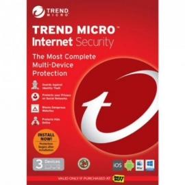 Trend Micro Internet Security 2017 Dvd, Oem Single Pack, 3 User, 1 Year License Ticiwwm9xsbxeo