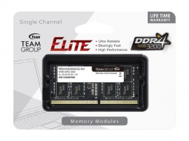 TEAM Group 1x16GB Elite SODIMM 3200Mhz DDR4 Laptop Memory (TED416G3200C22-S01)
