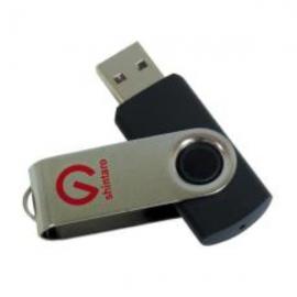 Shintaro 64GB Rotating Pocket Disk USB3.2 (Gen 1) - Backwards compatible with USB 2.0 & USB 3.0/3.2 (SHR64GBU3)