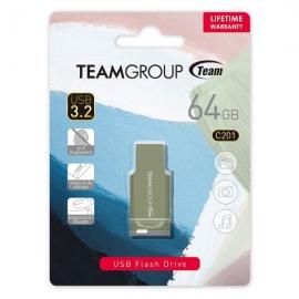 TEAM C201 USB3.2 Morandi Color Flash Drive 64GB (TC201364GG01)