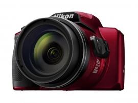 Nikon Digital Compact Camera Coolpix B600 Red 16Mp 60X Optical Zoom Fixed Lens Mini Hdmi B600-Red
