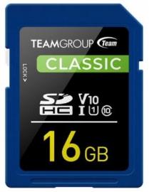 Team Classic Sd Memory Card 16 Gb Tsdhc16Giv1001
