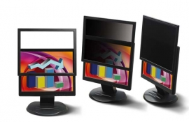 """3m Pf220w9f Framed Privacy Filter For 22"""" Widescreen Lcd Monitor (16:9) 98044060600"""