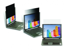"""3M TF140W9B Privacy Filter for 14.0"""" Widescreen Laptop (16:9) - Touch with Comply"""