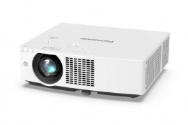 Panasonic PT-VMZ60 LCD Laser Portable Projector, 6000 Lumens, WUXGA (1920 x 1200), 3000000:1, HDMI, VIDEO IN