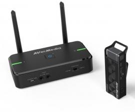AVerMedia AW5 AVerMic Wireless Microphone & Classroom Audio System Single Mic and Receiver (AW315 SINGLE)