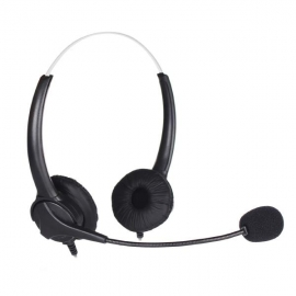 Shintaro Stereo Usb Headset With Noise Cancelling Microphone Sh-127