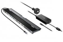 J5create JCD543P USB-C Triple Display Docking Station with 100W PD adaptor (JCD543P)