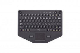 Ikey Bt-80-tp Rugged Bluetooth Keyboard With Touchpad (vesa Mount) Bt-80-tp
