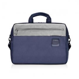 """Everki Contempro Commuter Laptop Bag Navy Briefcase, Up To 15.6"""" With Dedicated Tablet/ipad/pro/"""