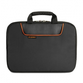 EVERKI EKD808S13B Laptop Sleeve w/Memory Foam, up to 13.3-Inch EKF808S13B