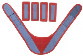 High Visibility Shoulder Cover (For Ruxton Pack) Hvc1017