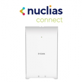 D-Link Wireless AC1200 Wave 2 Concurrent Dual Band Wall-Plate Access Point with PoE passthrough (DAP-2622)