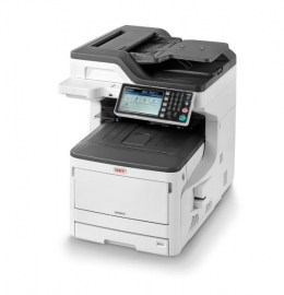 Oki Mc853dn Colour A3 23 - 23ppm (a4 Speed) Network Duplex 400 Sheet +options 4-in-1 Multi-function