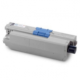 Oki Toner Cartridge Cyan For C610; 6,000 Pages @ 5% Coverage 44315311