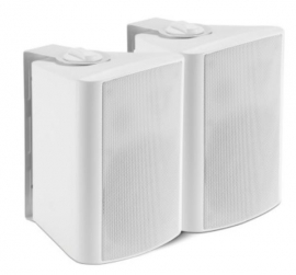 "Shintaro 5.25"" Powered Indoor Wall Speakers (Active/Passive) Ideal For Boardrooms &Amp; Classrooms Requiring Increased Volume From Projectors Tv'S &Amp; Ifps Sh-S720W"